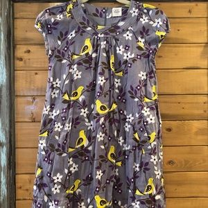 Mini Boden cotton dress 9-10 with pockets